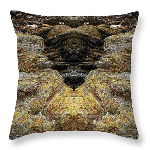 Throw Pillow featuring the photograph Creation 4 by Mike Nellums