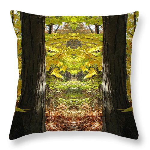 Throw Pillow featuring the photograph Creation 40 by Mike Nellums