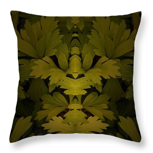 Throw Pillow featuring the photograph Creation 55 by Mike Nellums