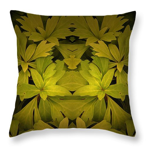 Throw Pillow featuring the photograph Creation 56 by Mike Nellums