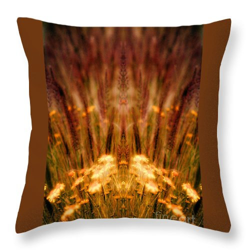 Throw Pillow featuring the photograph Creation 57 by Mike Nellums
