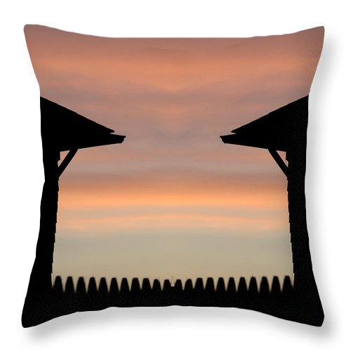 Throw Pillow featuring the photograph Creation 62 by Mike Nellums