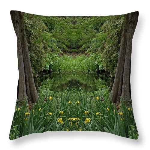 Throw Pillow featuring the photograph Creation 66 by Mike Nellums