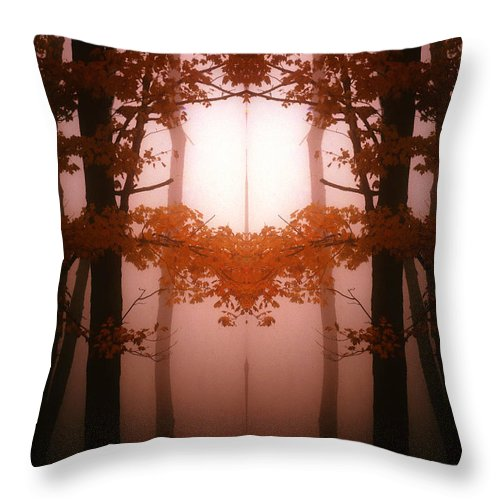 Throw Pillow featuring the photograph Creation 76 by Mike Nellums
