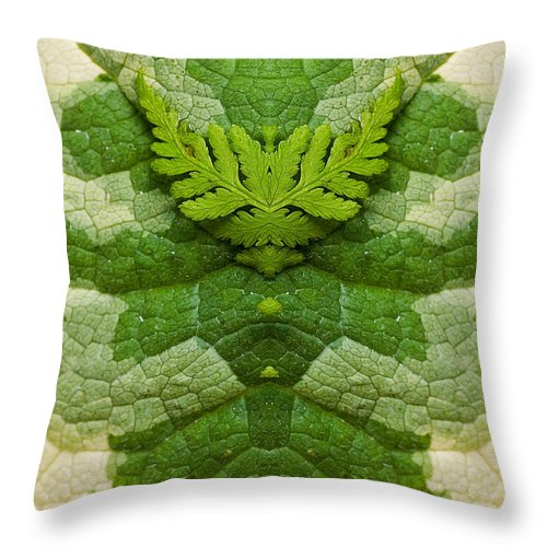 Throw Pillow featuring the photograph Creation 91 by Mike Nellums