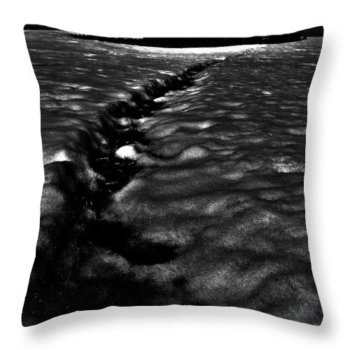 Sky Throw Pillow featuring the photograph Creeping Lighthouse by The Artist Project