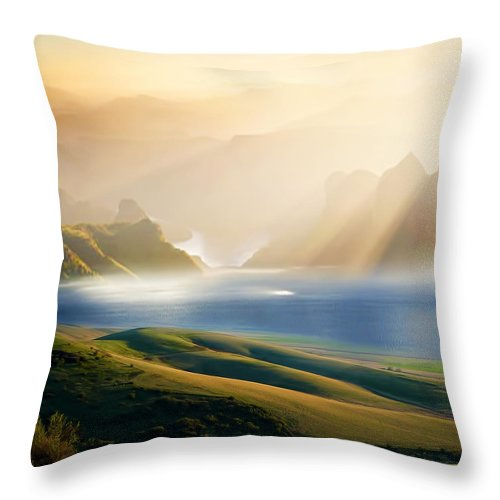 Day 3 Throw Pillow For Sale By Lourry Legarde