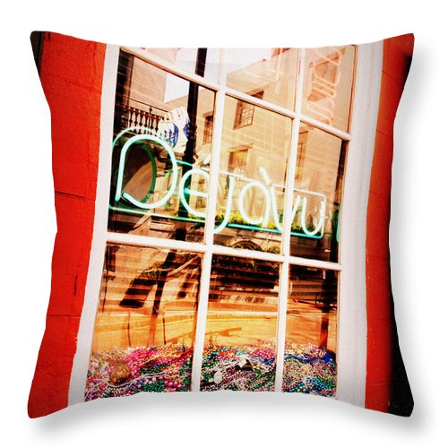De Ja Vou Throw Pillow featuring the photograph De Ja Vu by Jennifer Kelly