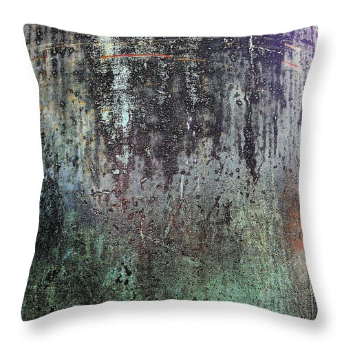 Abstract Throw Pillow featuring the photograph Dead Souls by Eena Bo