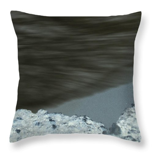Sea Throw Pillow featuring the photograph Deerfield Beach Pier IIi by Cathi Abbiss Crane
