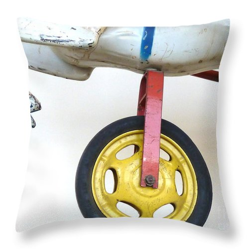 Carousel Throw Pillow featuring the photograph Dependable Support by Newel Hunter