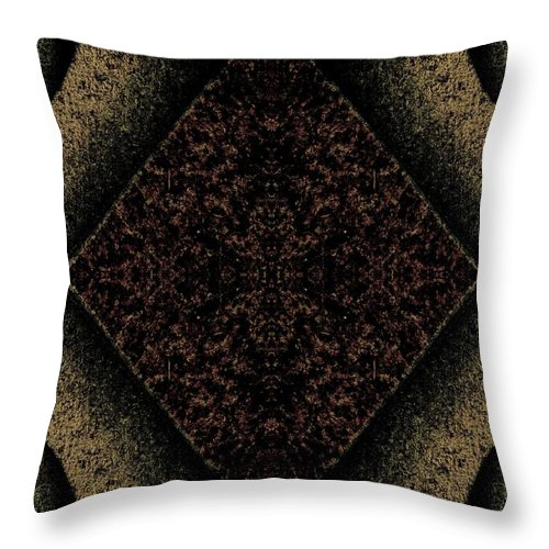 Three Dimensional Throw Pillow featuring the photograph Depth by Jane Alexander