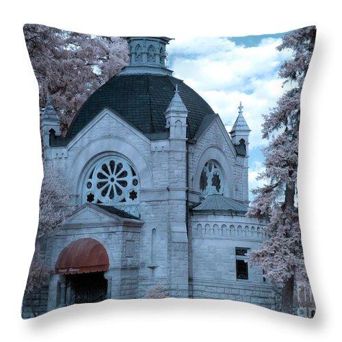 Ir Throw Pillow featuring the photograph Dome by Stephanie Kripa