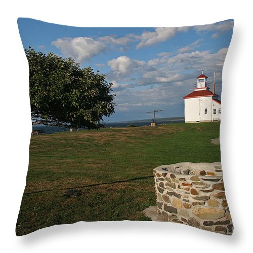 The Ring Throw Pillow featuring the photograph Don't Answer the Phone by Brenda Giasson