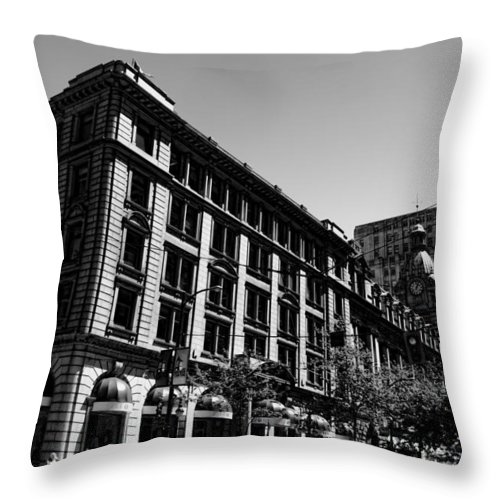 Jerry Cordeiro Framed Prints Framed Prints Framed Prints Framed Prints Framed Prints Framed Prints Framed Prints Framed Prints Framed Prints Photographs Framed Prints Throw Pillow featuring the photograph Down Hope Street by The Artist Project