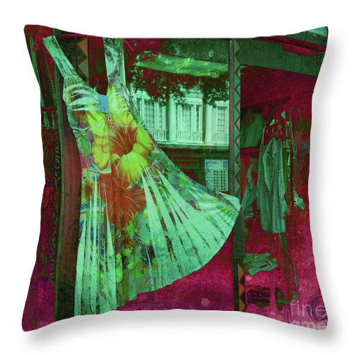 Dress Throw Pillow featuring the photograph Dressy Feeling by Susanne Van Hulst
