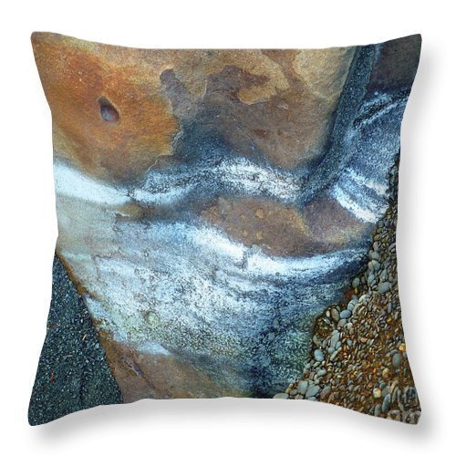 Still Life Throw Pillow featuring the photograph Elements by Lauren Leigh Hunter Fine Art Photography