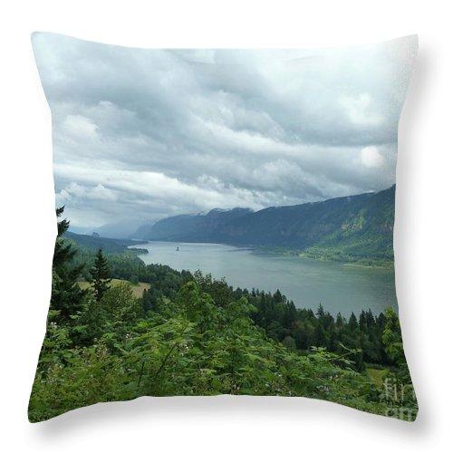 Landscape Throw Pillow featuring the photograph Endless by Lauren Leigh Hunter Fine Art Photography