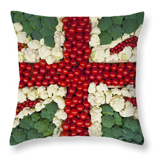 Colour Image Throw Pillow featuring the photograph England by Axiom Photographic