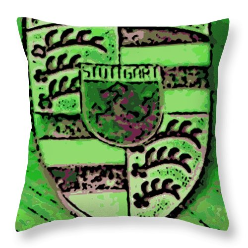 Porsche Throw Pillow featuring the photograph Envy by George Pedro
