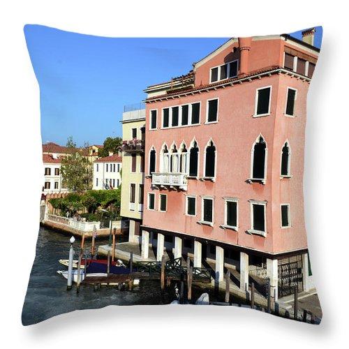 Landscape Throw Pillow featuring the photograph European Landscape by La Dolce Vita