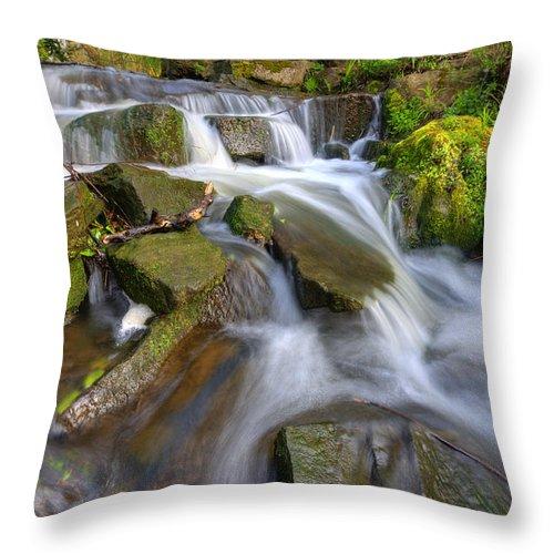 Yhun Suarez Throw Pillow featuring the photograph Even Flow 3.0 by Yhun Suarez