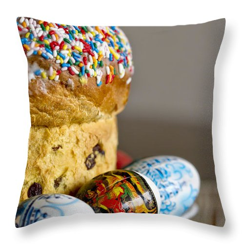 Easter Throw Pillow featuring the photograph Every Shade Of Easter by Evelina Kremsdorf
