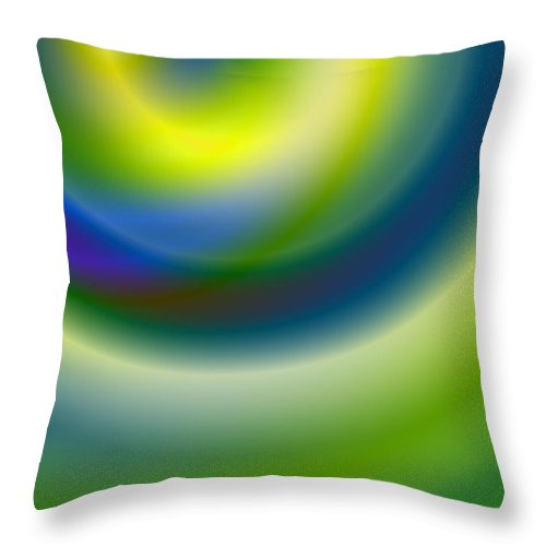 Digital Throw Pillow featuring the digital art Everything Is Everything by Jimi Bush