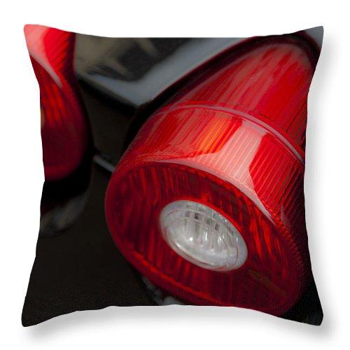 Ferrari 430 Throw Pillow featuring the photograph F430 by Maj Seda
