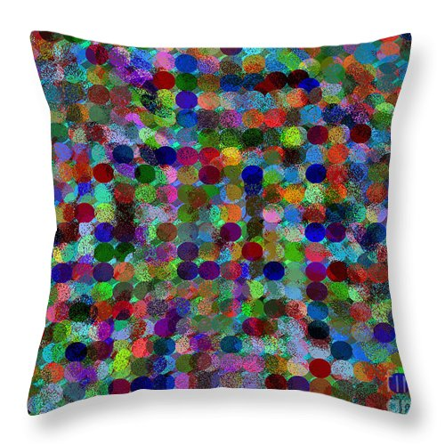 Ebsq Throw Pillow featuring the digital art Fairy Dust by Dee Flouton