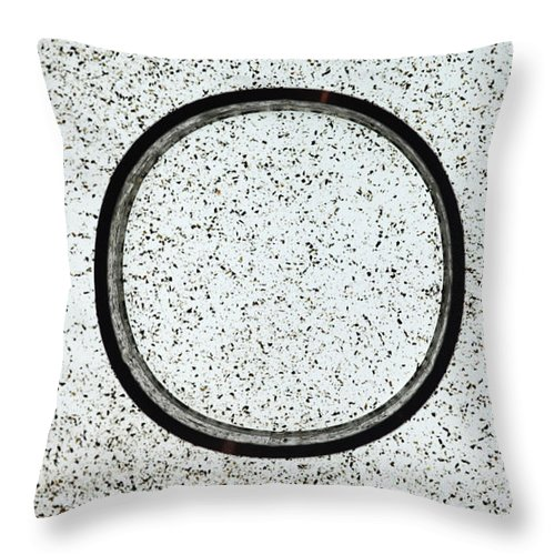 Faraday Cage With No Electric Field Throw Pillow