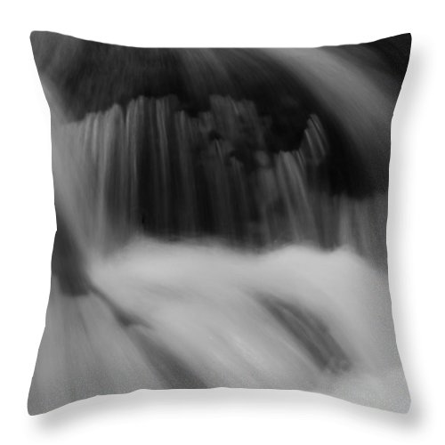 Falls Throw Pillow featuring the photograph Flow by Jeff Galbraith