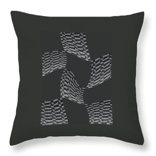 Texture Throw Pillow featuring the digital art Flying by Efrat Fass