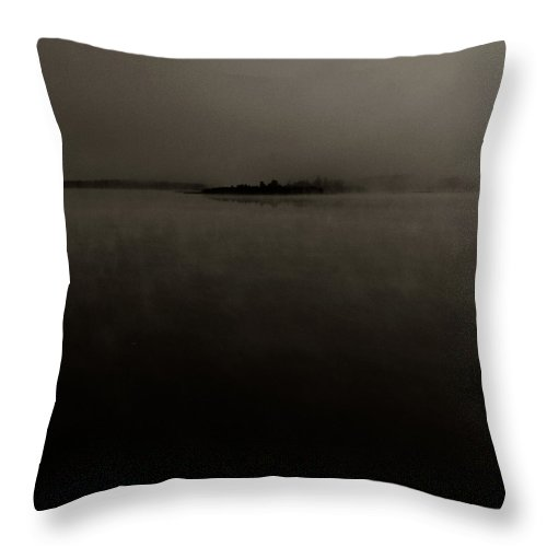 Street Photography Photographs Framed Prints Photographs Framed Prints Throw Pillow featuring the photograph Fog by The Artist Project