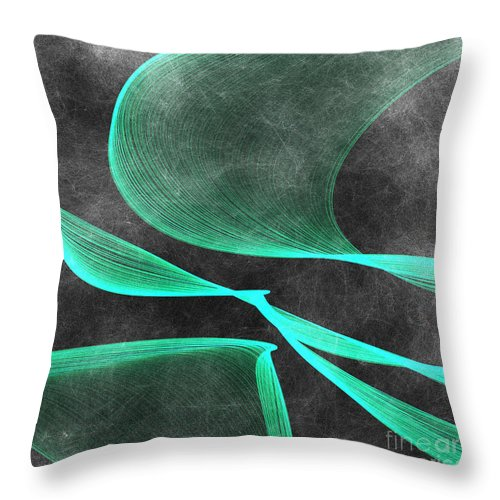Digital Throw Pillow featuring the digital art Forgiving by Renee Trenholm
