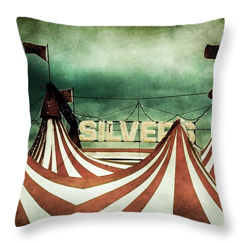 Circus Throw Pillow featuring the photograph Freak Show by Andrew Paranavitana