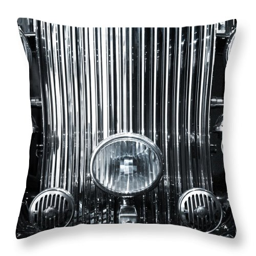 American Throw Pillow featuring the photograph Front Grid by Carlos Caetano