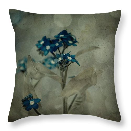 Flower Throw Pillow featuring the photograph Full Of Spirit by Trish Tritz