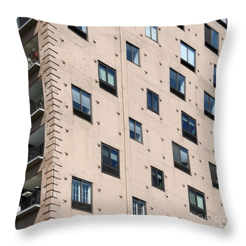 Fulton House Throw Pillow featuring the photograph Fulton House. Chicago by Ausra Huntington nee Paulauskaite