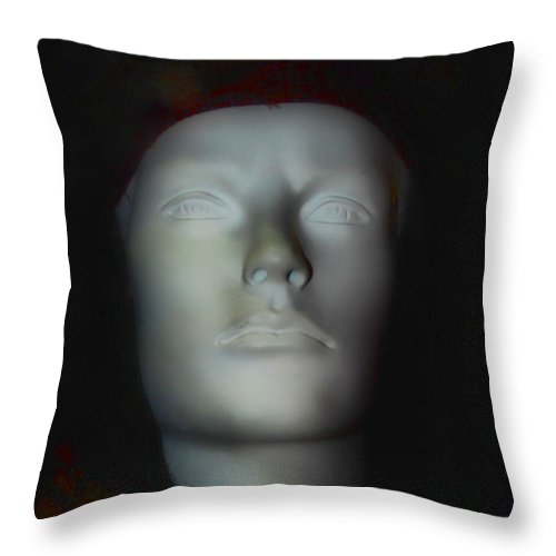 California Throw Pillow featuring the photograph Ghost Image by Norma Warden
