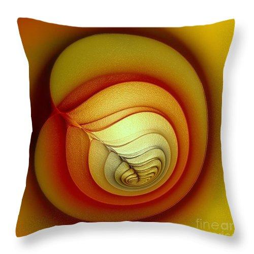 Glory Throw Pillow featuring the digital art Glory by Klara Acel