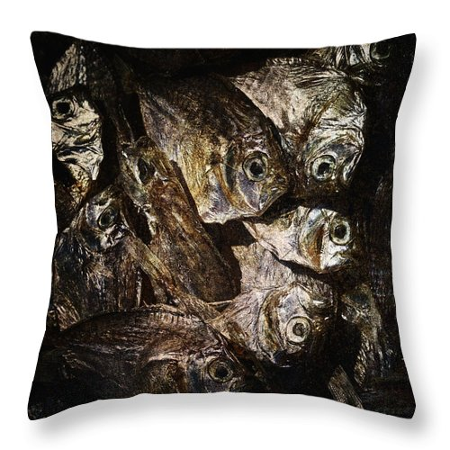 Abstract Throw Pillow featuring the photograph Goodness by Skip Nall