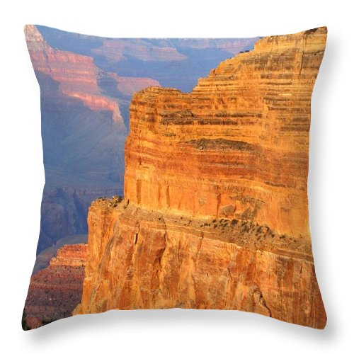 Grand Canyon Throw Pillow featuring the photograph Grand Canyon 27 by Will Borden