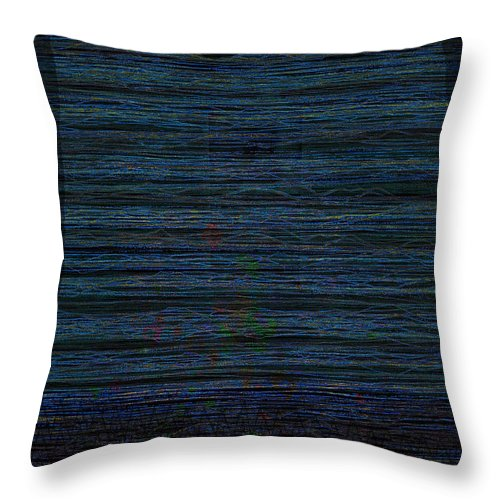 Gravity Throw Pillow featuring the digital art Gravity 3 by Andy Mercer