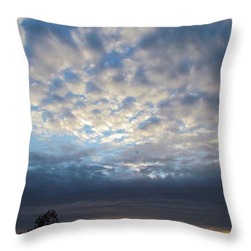 Sky Throw Pillow featuring the photograph Greatest Gift by Ginger Adams