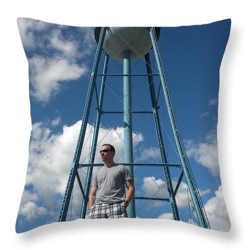 Nick Woolworth Throw Pillow featuring the photograph Growing Up At 26 by Thomas Woolworth