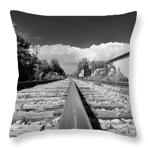 Engine Throw Pillow featuring the photograph Hamburg 7089 by Guy Whiteley