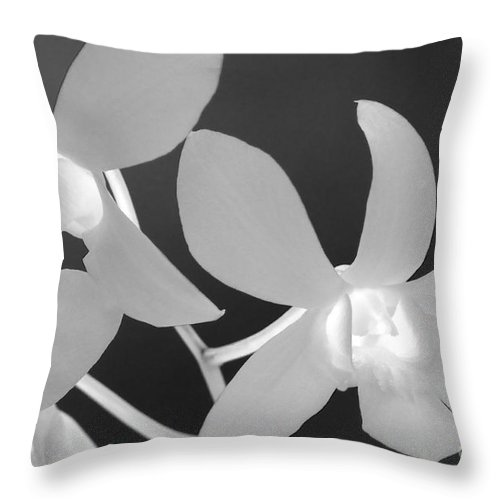 Floral Throw Pillow featuring the photograph Hawaiian Floral Detail by Sandra Bronstein