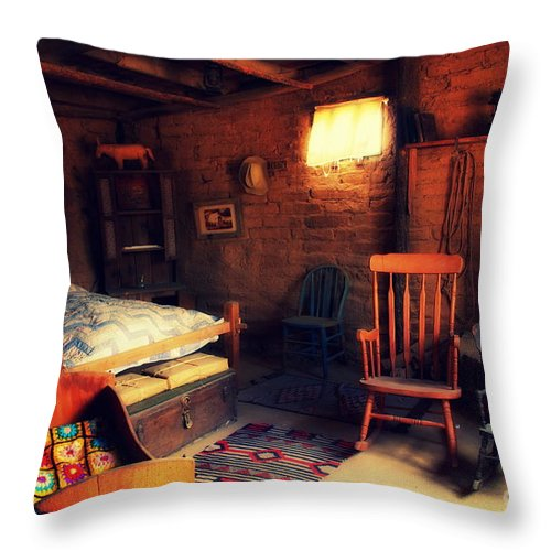 Home Sweet Home Throw Pillow featuring the photograph Home Sweet Home 2 by Susanne Van Hulst