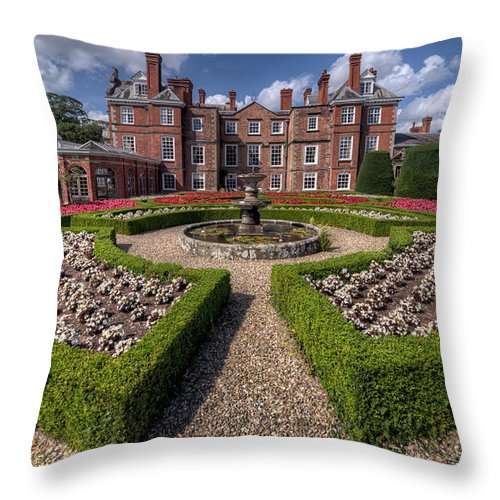 17th Century Throw Pillow featuring the photograph Home Sweet Home by Adrian Evans